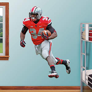Carlos Hyde - Ohio State Fathead Wall Decal